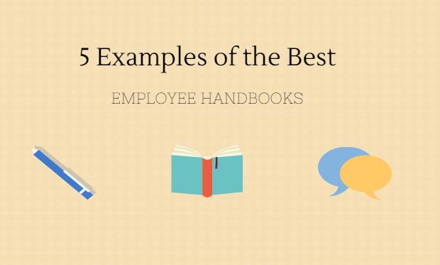 best employee handbooks examples