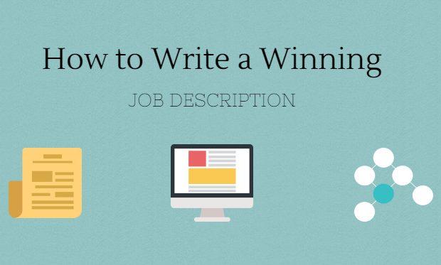 write job description