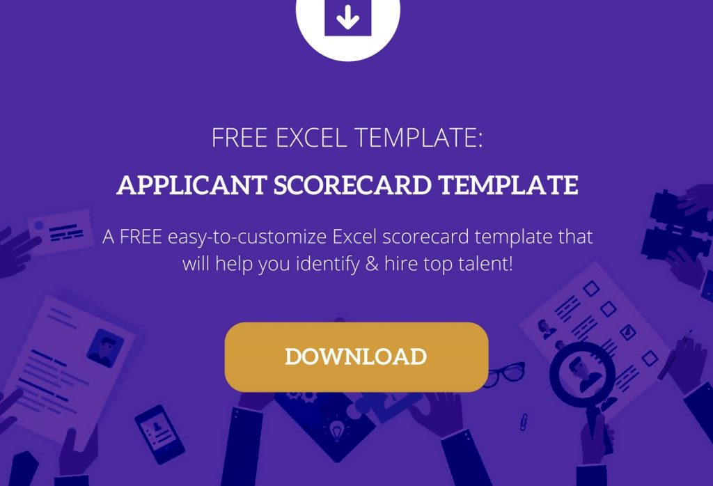 interview scorecard template