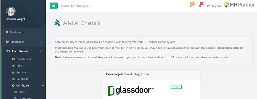 HR software job boards